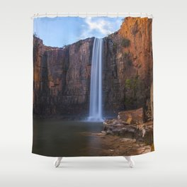 Waterfall on the Berkeley Shower Curtain