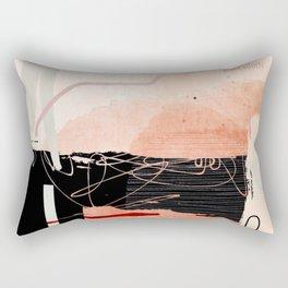 Anxious Rectangular Pillow