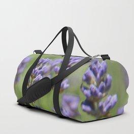 Purple Buds Duffle Bag