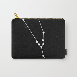 TAURUS (BLACK & WHITE) Carry-All Pouch
