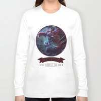 league of legends Long Sleeve T-shirts featuring League Of Legends - Cho'gat by TheDrawingDuo