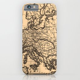 Iconographic Encyclopedia of Science, Literature and Art (1851): Europe during the French Revolution iPhone Case