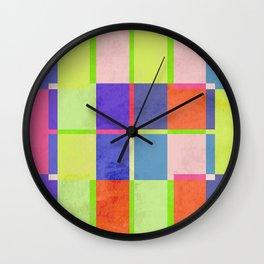 Color Matters Wall Clock