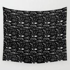 Accoutrements BLACK Wall Tapestry
