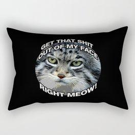 Right Meow! Rectangular Pillow
