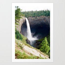 Helmcken Falls, British Columbia  Art Print