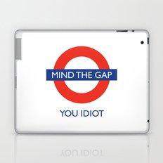 Mind The Gap Laptop & iPad Skin