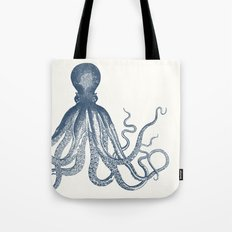 Offset Octopus Tote Bag