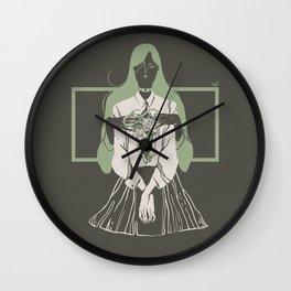 Selfless gooddeed Wall Clock