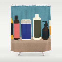 Plastic Bottles Shower Curtain