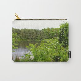 Wild Flowers on the lake Carry-All Pouch