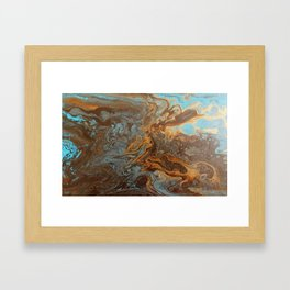 Caramel Blend 3 Framed Art Print