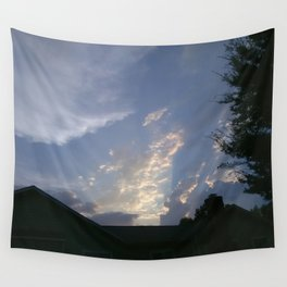 Shafts Of Light Wall Tapestry