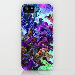 Mudded Two iPhone Case