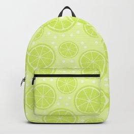 Summer Lime Pattern Backpack