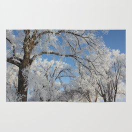Frosted Trees Rug