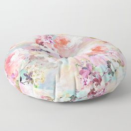 Love of a Flower Floor Pillow
