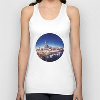 nashville Tank Tops featuring One night in Nashville by GF Fine Art Photography