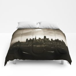 the dark side of San Francisco Comforters