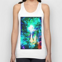 "hologram Tank Tops featuring "" The voice  is a second face"" by shiva camille"