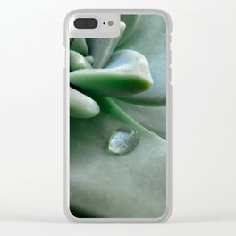 Dewdrop Clear iPhone Case