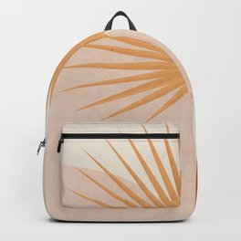 Tropical Leaf- Abstract Art 49a Backpack