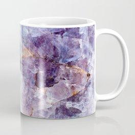 Quartz Stone - Blue and Purple Coffee Mug