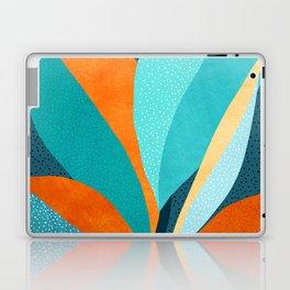 Abstract Tropical Foliage Laptop & iPad Skin