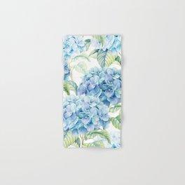 Blue Hydrangea Hand & Bath Towel