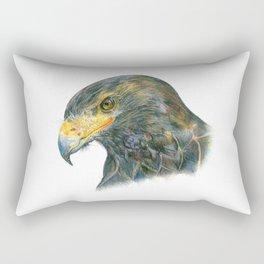 Eagle Portraiture Rectangular Pillow