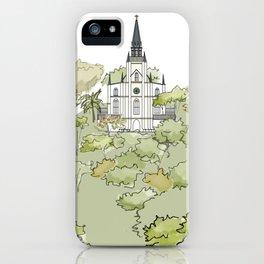Parque El Calvario -Capilla- iPhone Case
