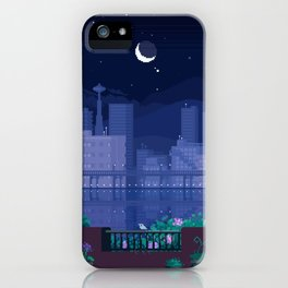 Seattle Nights iPhone Case