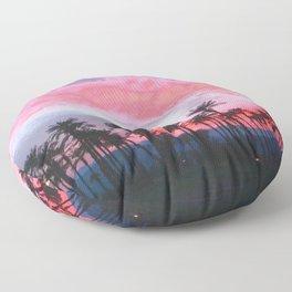 Coachella Sunset Floor Pillow