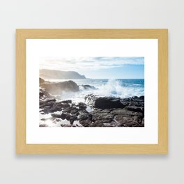 Queen's Bath Framed Art Print
