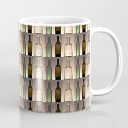 Three Bottles Collage Coffee Mug