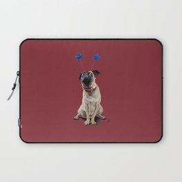 A Pug's Life (Colour) Laptop Sleeve