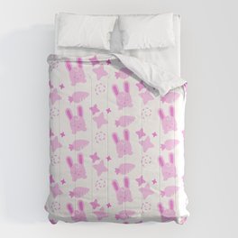 Gangster Bunny, Playful Pattern Comforters