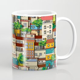 Favela seamless pattern Coffee Mug