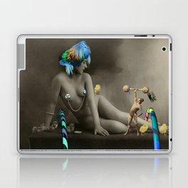 The Strongman & The Hooping Showgirl Laptop & iPad Skin