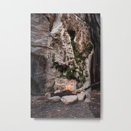 Pitstop hiking up black star canyon Metal Print