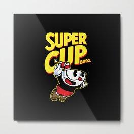 Super Cupbros Metal Print