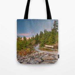 Spruce Knob Twilight Trail Tote Bag