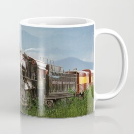 Smokey Mountain Railway Steam Locomotive Coffee Mug