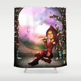 Sweet fairy Shower Curtain