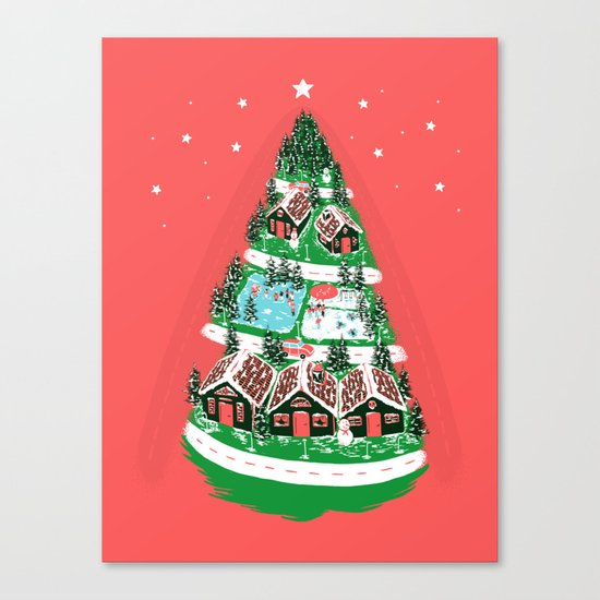 It's begining to look a lot like Christmas Canvas Print