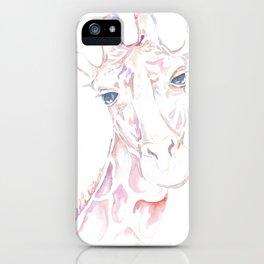 Giraffe Illustration iPhone Case