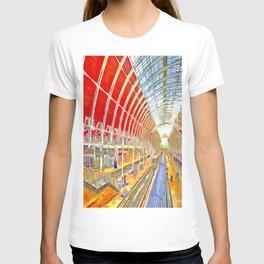 Paddington Railway Station Pop Art T-shirt