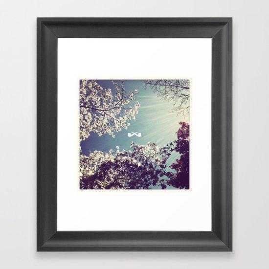 Spring Ray. Framed Art Print