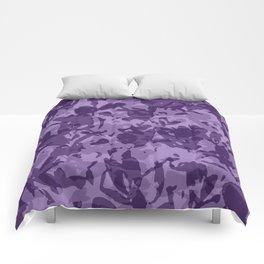 farba (violet) Comforters