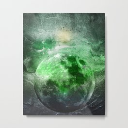 MOON under MAGIC SKY II Metal Print